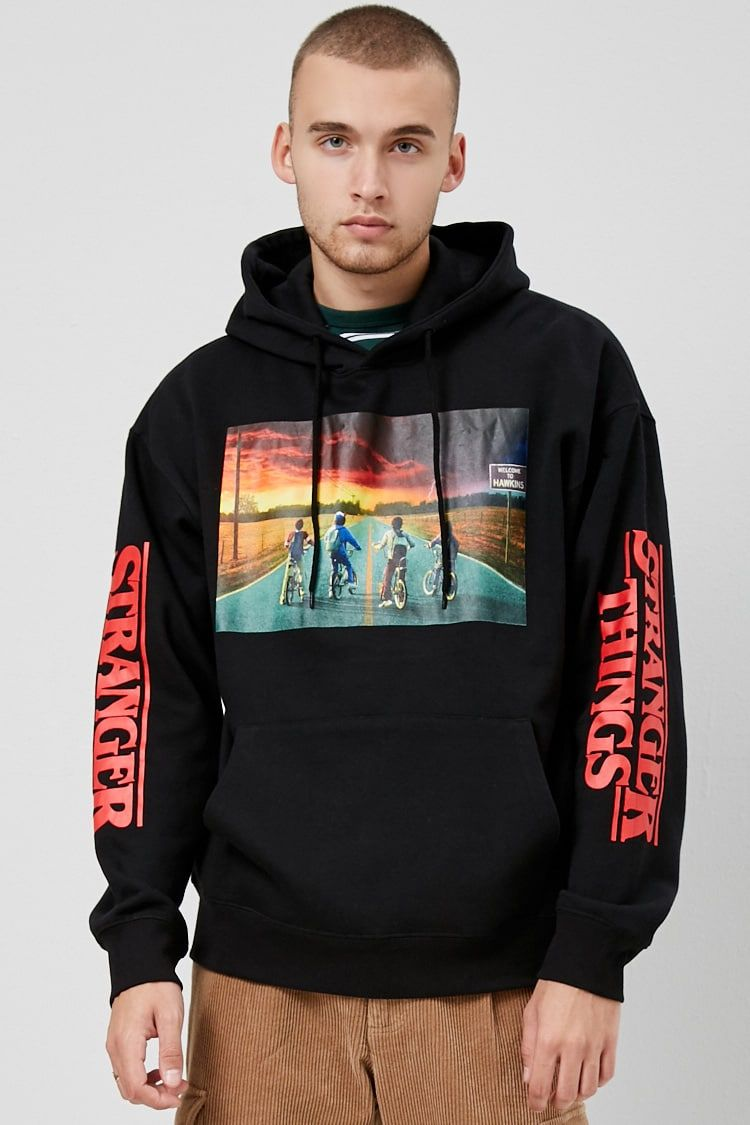 337c515bc55 Stranger Things Graphic Hoodie   ♡Wishes♡ in 2019   Hoodies ...