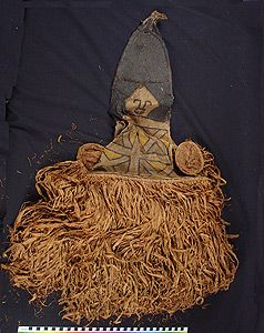 Headdress, Tukuna, Ticuna people. Brazil, Colombia, Peru. Search the Collection, Spurlock Museum, U of I
