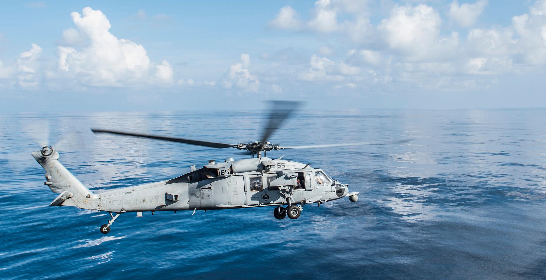 Обои MH-60R, армия, Sea Hawk helicopter. Авиация foto 2