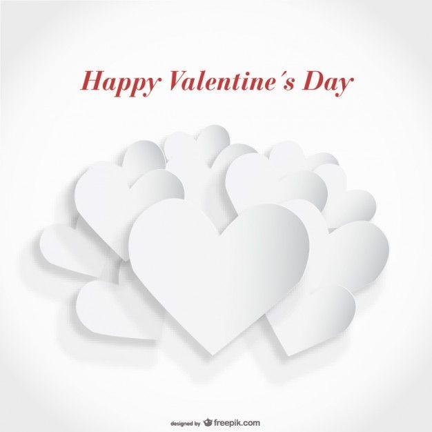 Download White Paper Cutout Heart Card Design For Free Paper Cutout Card Design Heart Cards