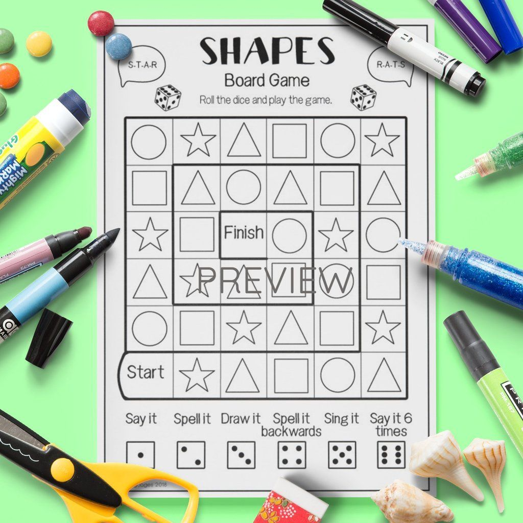 Shapes Board Game