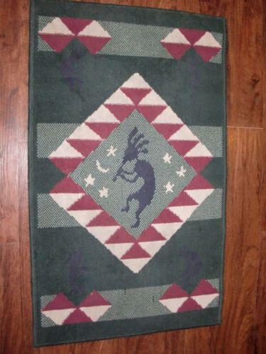 Vintage Southwestern Kokopelli Native Design 23x39 Runner