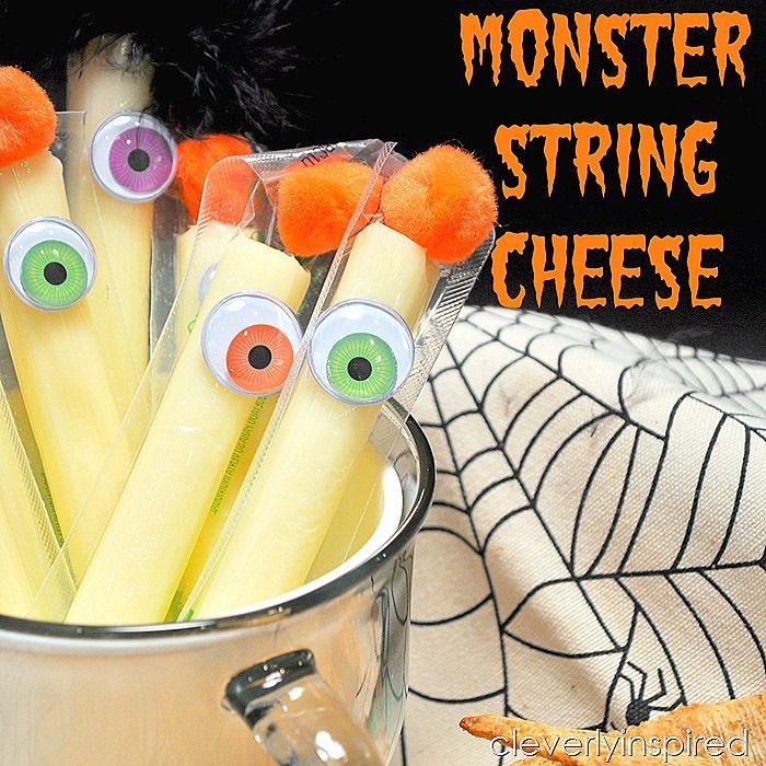 healthy halloween snack @cleverlyinspired (4) Halloween Party - kid halloween party ideas