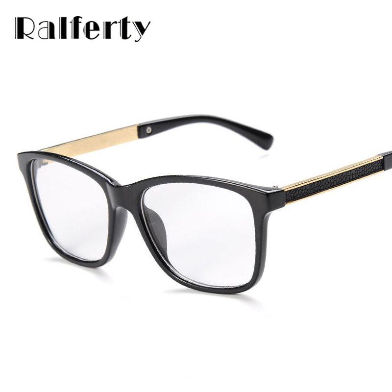 Ralferty monturas de gafas mujer hombre marco de las lentes para la ...