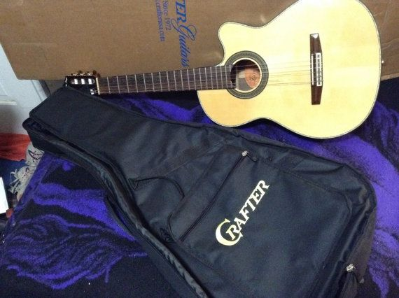Classical Guitar Crafter CE 24/N Nylon string  by WMcFlameworks, $295.00