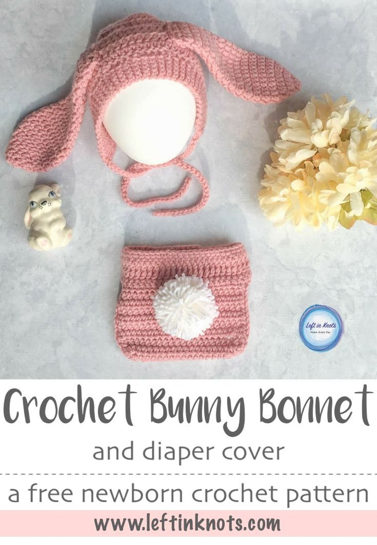 Baby Bunny Bonnet And Diaper Cover Set Giveaway Gaby Ochoa