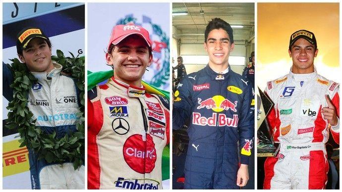 Brasileiros no caminho da Fórmula 1 2016
