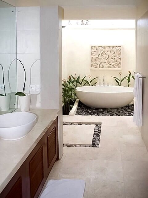 Cocoon exclusive bathroom collections and design projects for Balinese bathroom design