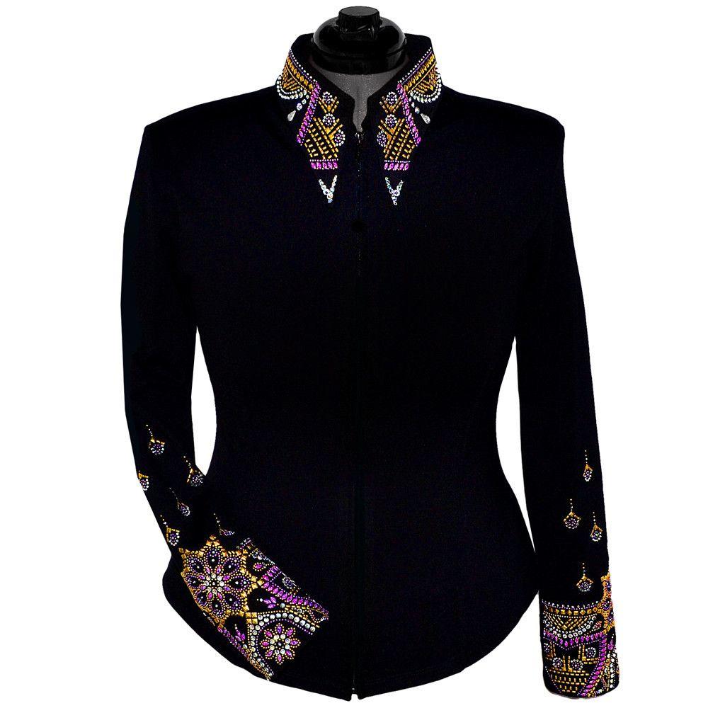 Gilded Purple Show Jacket