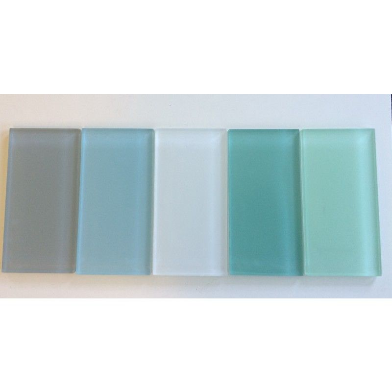 Subway Tiles For Kitchen Backsplash And Bathroom Tile In Aqua Blue Color Pool Matte Glass Subway Tile Tile Bathroom Subway Tile