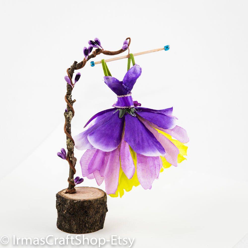 fairy ball dress, beautifully designed fairy purple ball dress