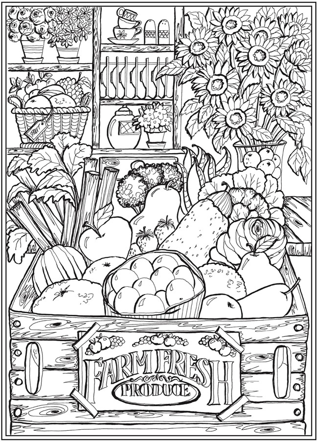 Welcome To Dover Publications Coloring Books, Coloring Pages, Fall Coloring  Pages