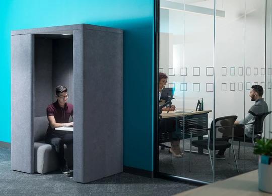 Focus Pod Juniper Office Furniture Juniper Office Home Focus Free Office Design Sound Absorbing