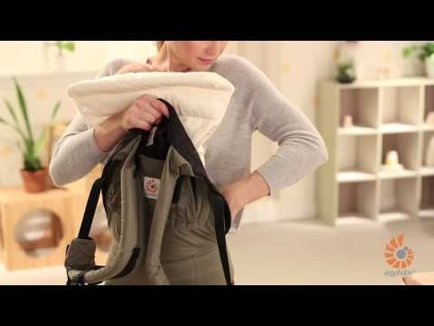 How to  Ergobaby Infant Insert - 3 Months with Baby Carrier   YouTube     ergobaby  babywearing d80ab7338b1