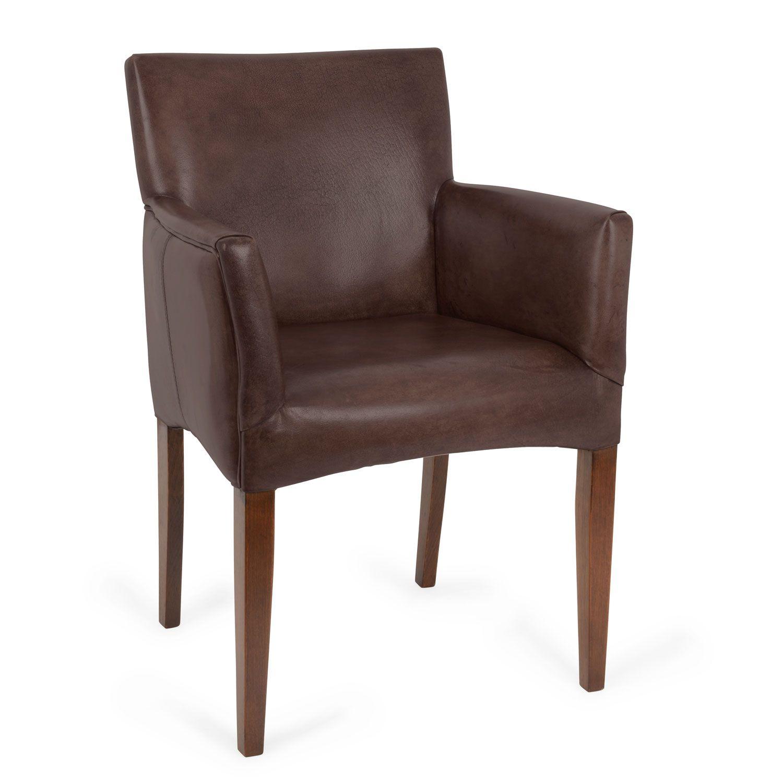 Cuba Armchair In Buffalo Leather | Chairs | Furniture | Healu0027s