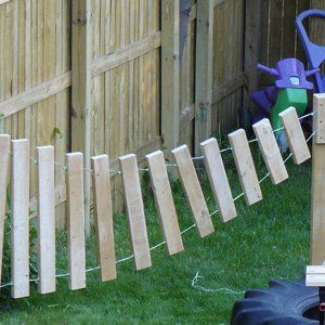 Make Your Own Outdoor Xylophone using 2x4s! childhood101.com