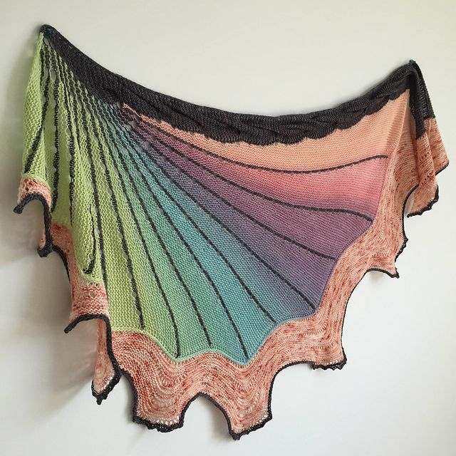 The Doodler pattern by Stephen West | SHAWL | Pinterest | Chal ...