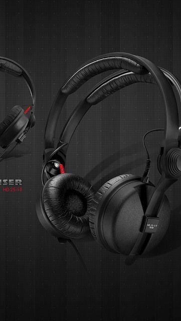 headphones_sennheiser_hd_25-1_ll_membranes_black_3856_640x1136 | by vadaka1986