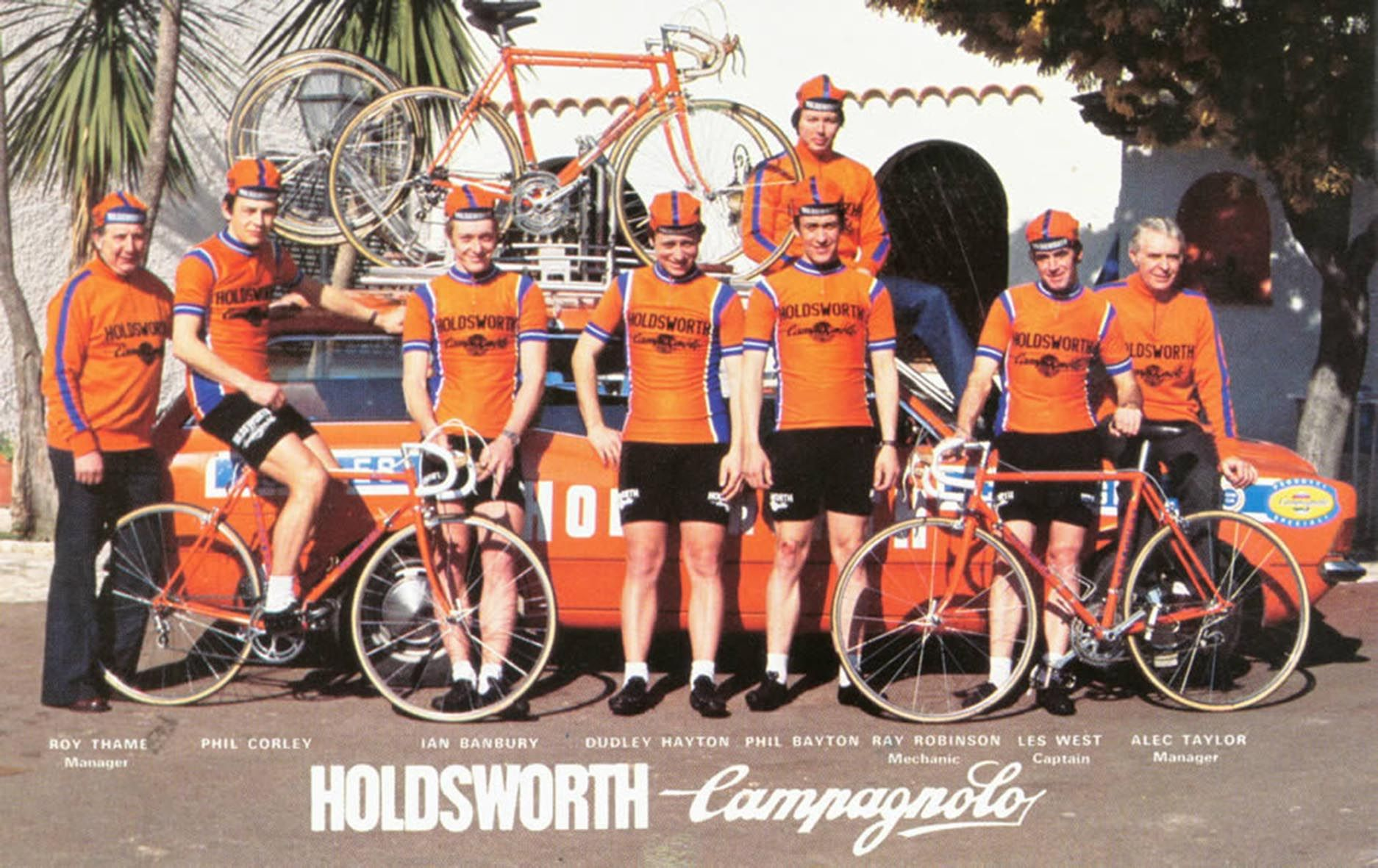 1978 HOLDSWORTH TEAM. Cycling Jerseys 55655b824