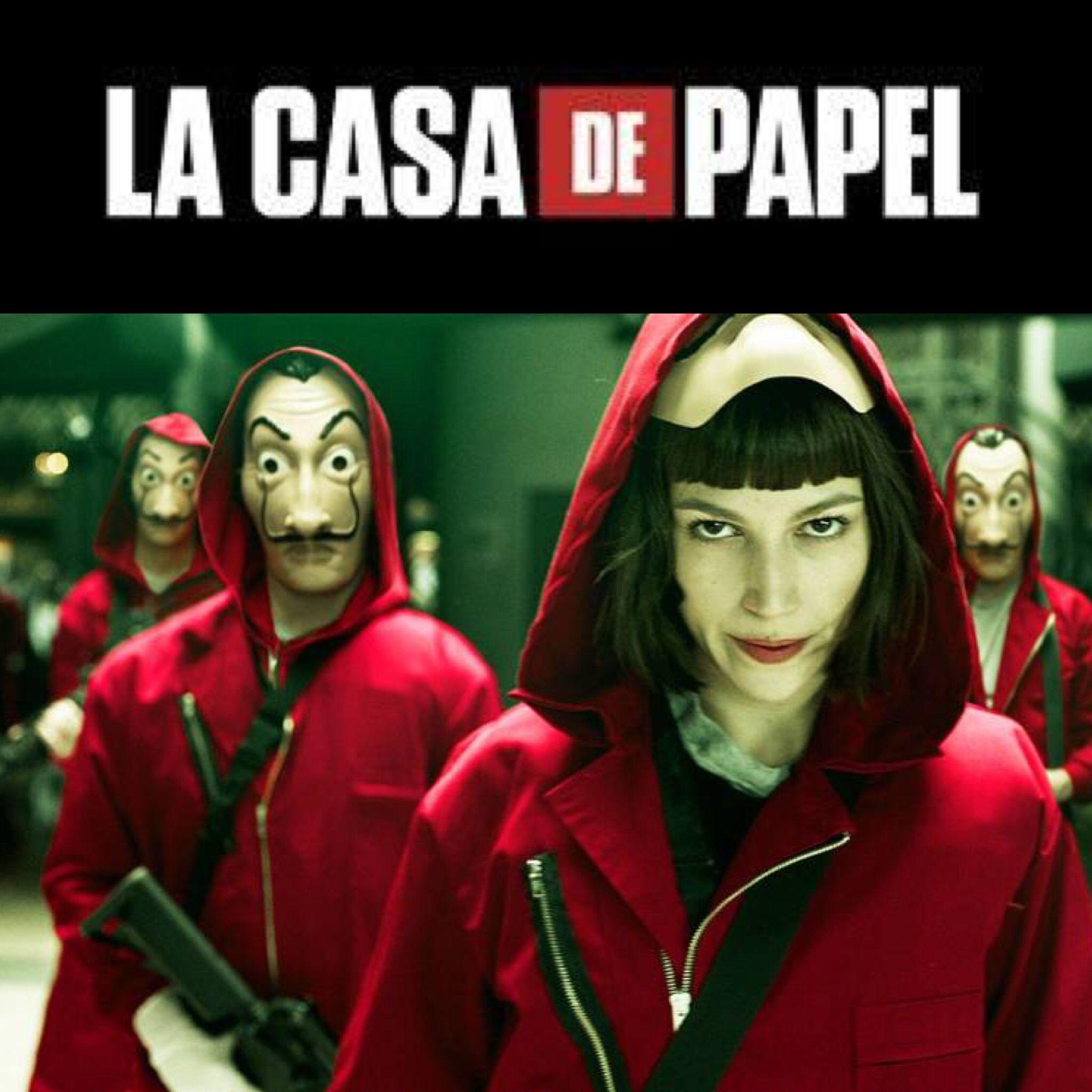2017 La Casa De Papel Money Heist Espana Casadepapel