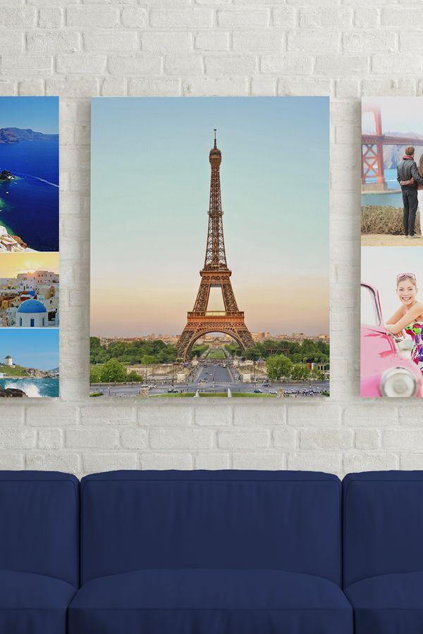 16x20 Canvas Voucher Collage, Canvases and Unique - creating a voucher