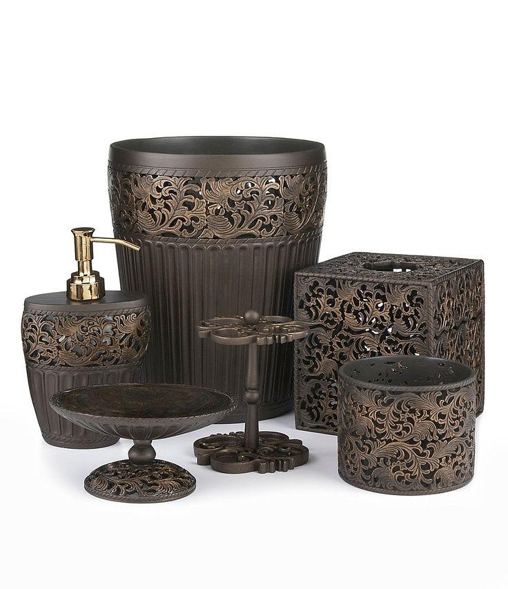 classic and unique bronze bathroom accessories antique beautiful rh pinterest com