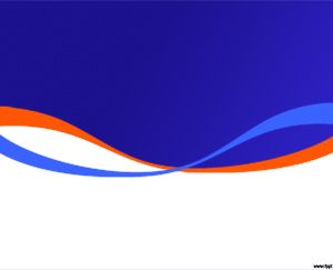Free Vibrant Blue Powerpoint Template Background For
