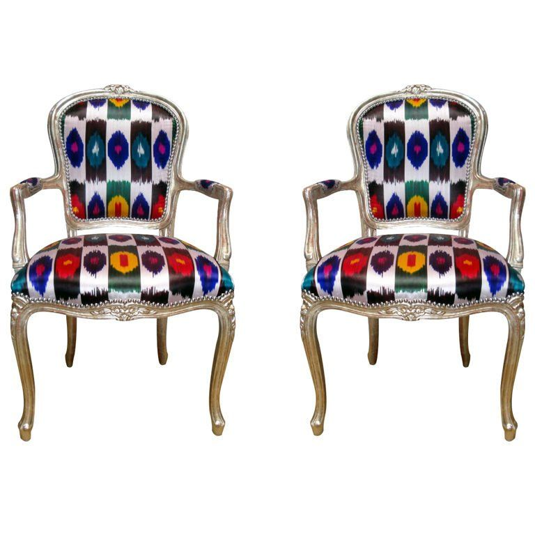 Pair of 1920s French Louis XV Style Armchairs | Armchair ...
