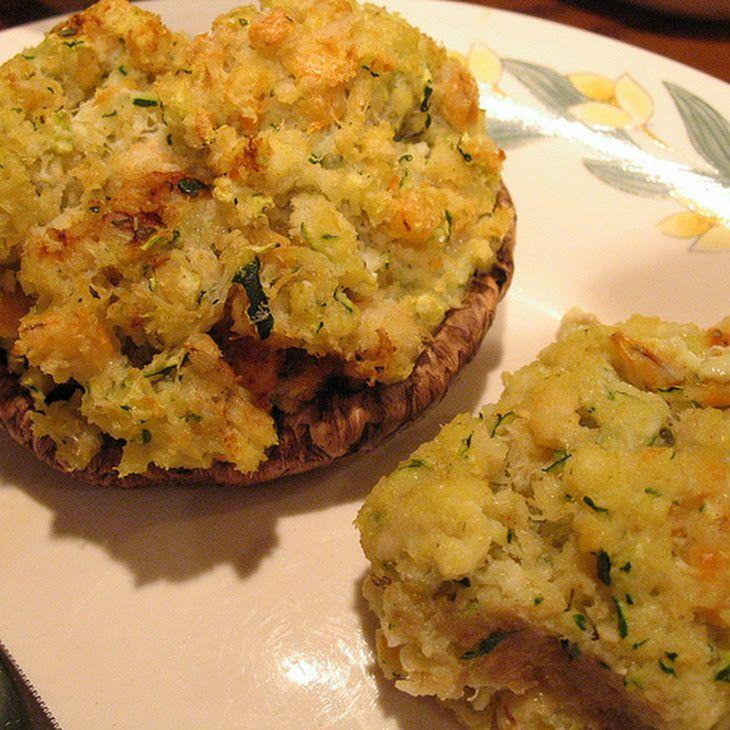seafood stuffed mushrooms  recipe  seafood stuffed
