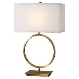 M Loves M Table Lamp Circle Table Brass Table Lamps