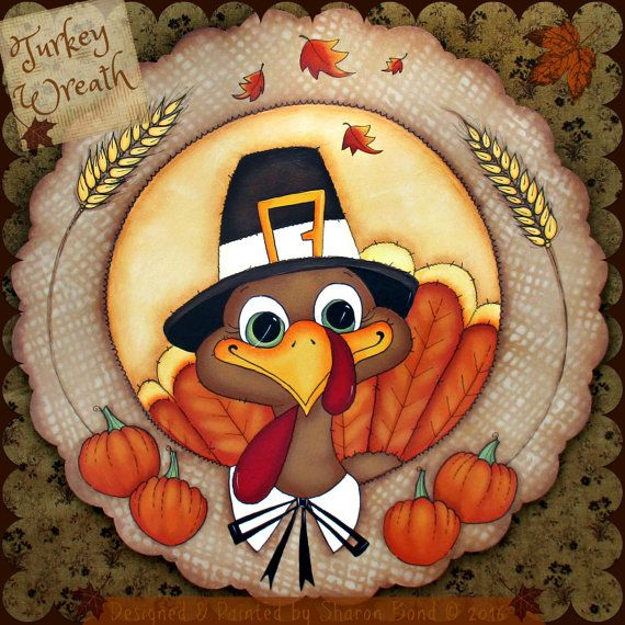 e pattern turkey wreath sweet turkey for all of fall or by skb007