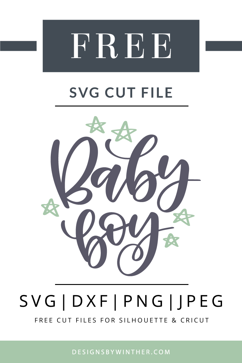 free baby boy svg cutting file for silhouette and cricut use this free vector clipart [ 800 x 1200 Pixel ]