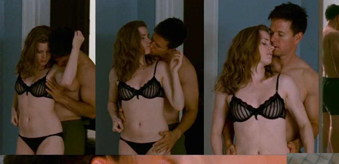 Amy Adams In Bra With Mark Wahlberg