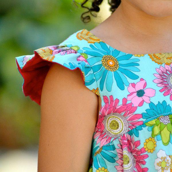 Schnittmuster kleid babydoll