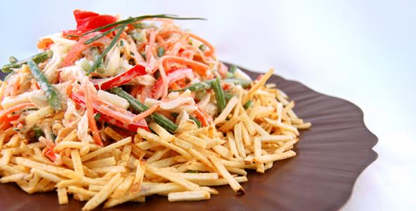 Sudamerica Brasile Insalata Di Pollo Brasiliana Salad Recipes Recipes Savory Chicken