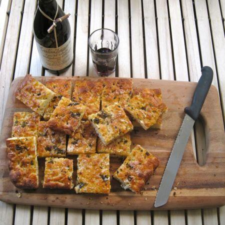 Pain a l\u0027Ancienne Focaccia with Herb Oil  Cheese Focaccia - cuisine a l ancienne