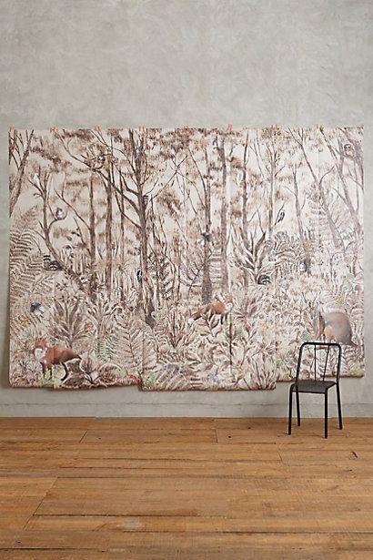 Tree Whisper Mural #anthropologie