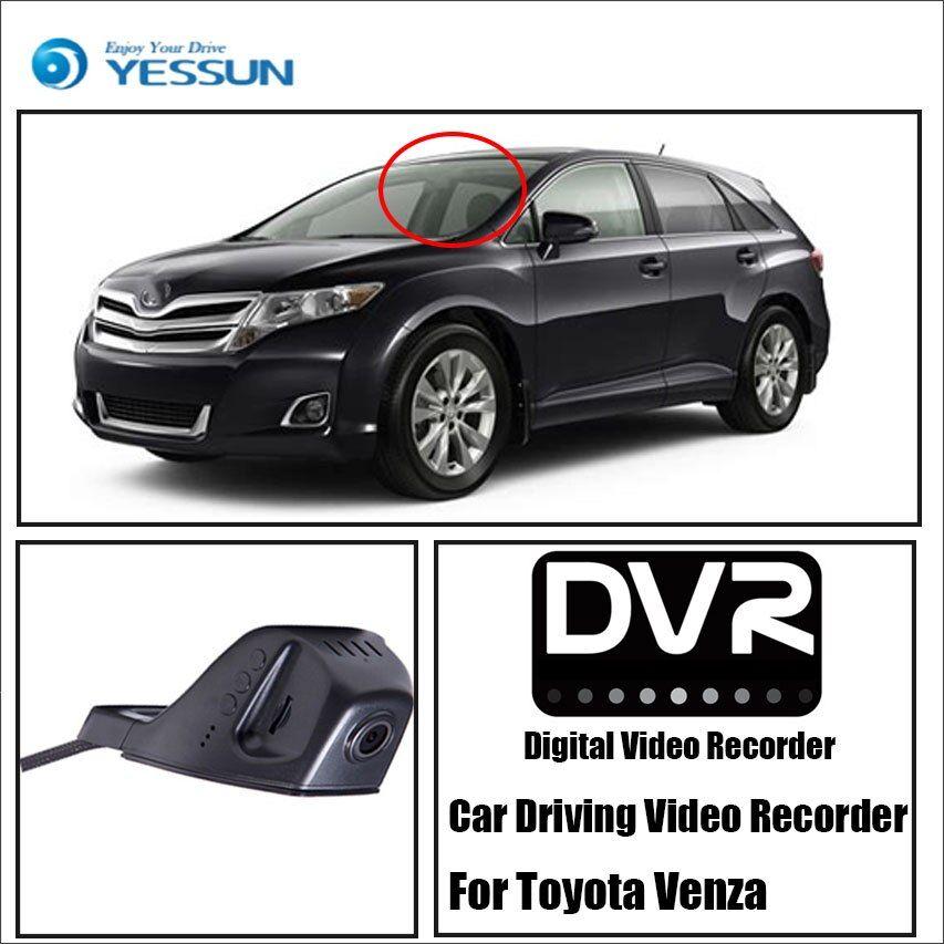 Toyota Venza Hd 1080p Front Camera Dash Toyota Venza Toyota Car