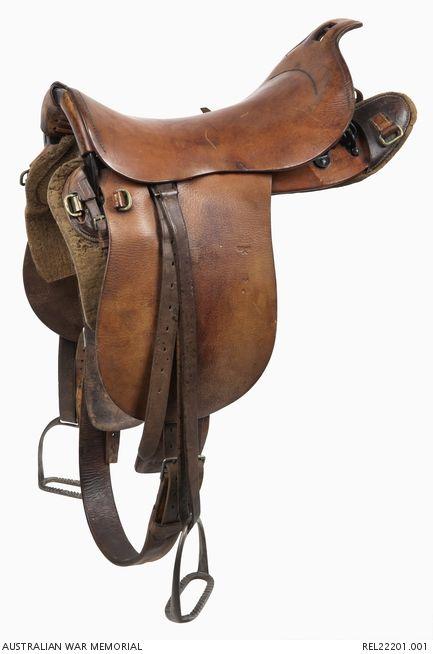 1912 Universal Pattern saddle : Australian Light Horse and