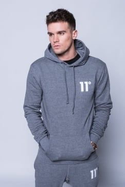 Core Pull Over Hoodie - Charcoal