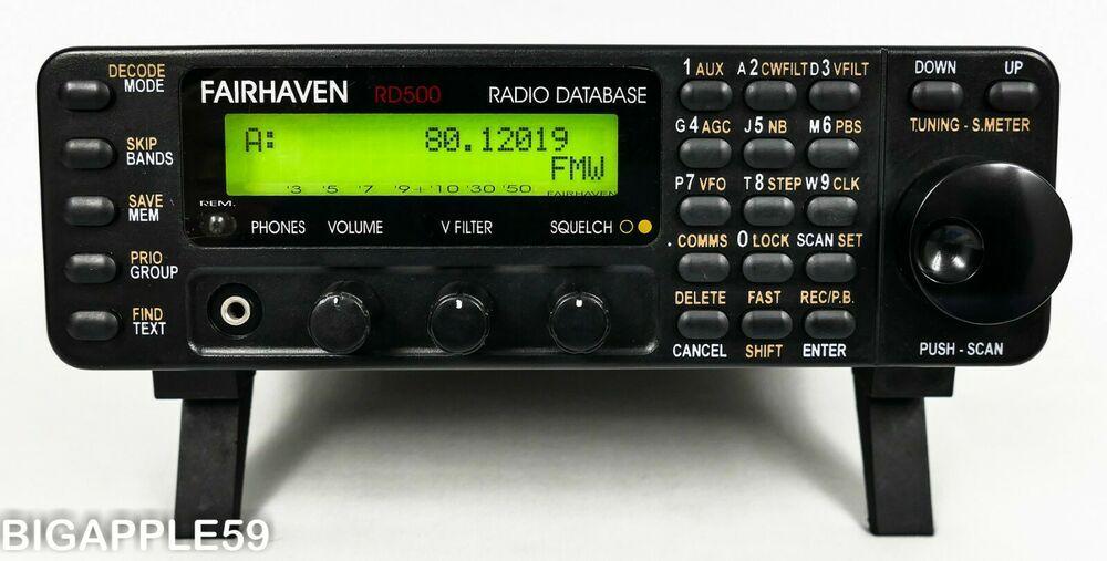 Fairhaven Rd500vx Lw Am Sw Fm Ssb Cw Vhf Uhf Radio Scanner