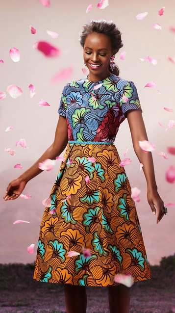 """Vlisco """"Bloom"""" Collection Spring 2014"""