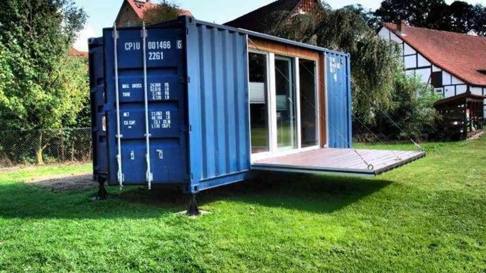 Einen Seecontainer Umbauen Zum Tiny House Schiffscontainer Haus Schiffscontainer Seecontainer