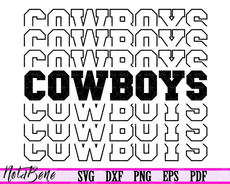 Download Cowboys SVG Love Cowboys team SVG Football Svg Football ...
