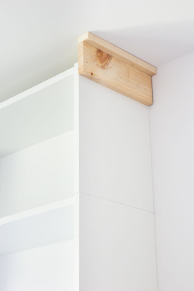 DIY Built Ins From IKEA Billy Bookcases One Room Challenge Week 2
