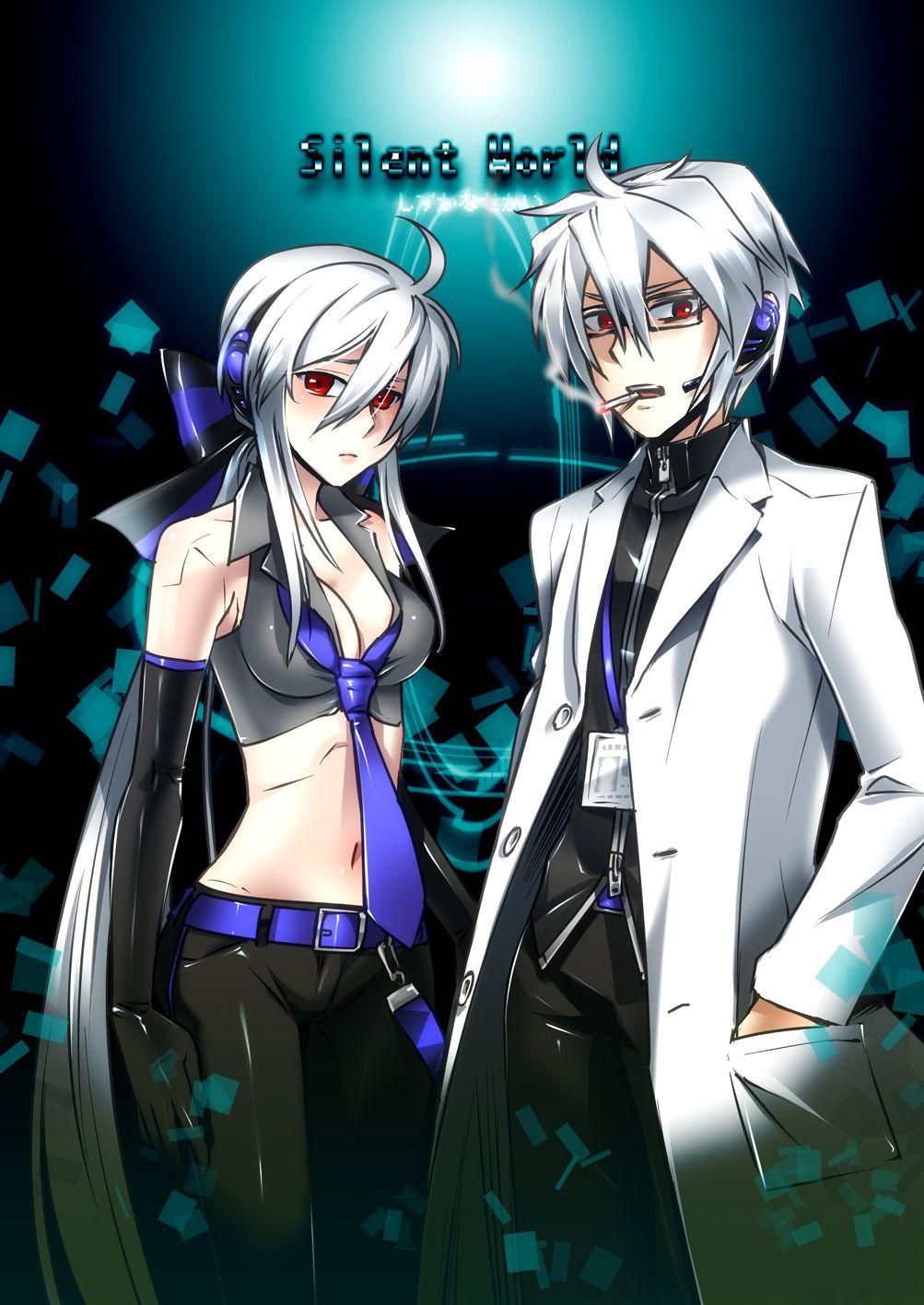Utauloid Yowane Haku And Honne Dell Vocaloid Vocaloid Characters Anime