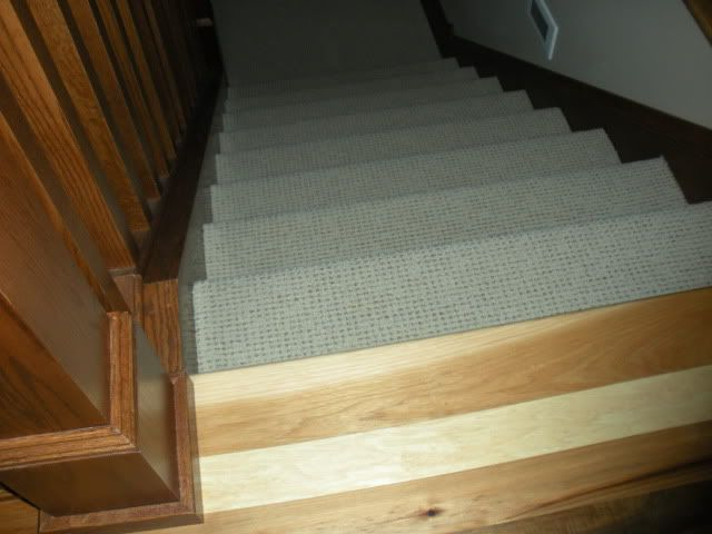 Attractive Image Detail For  Carpeted Stairs With Hardwood Floors??   Home Decorating  U0026 Design