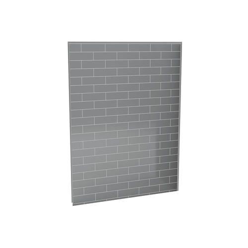 "MAAX® Utile Metro 60"" x 807/8"" Ash Grey Shower Back Wall"
