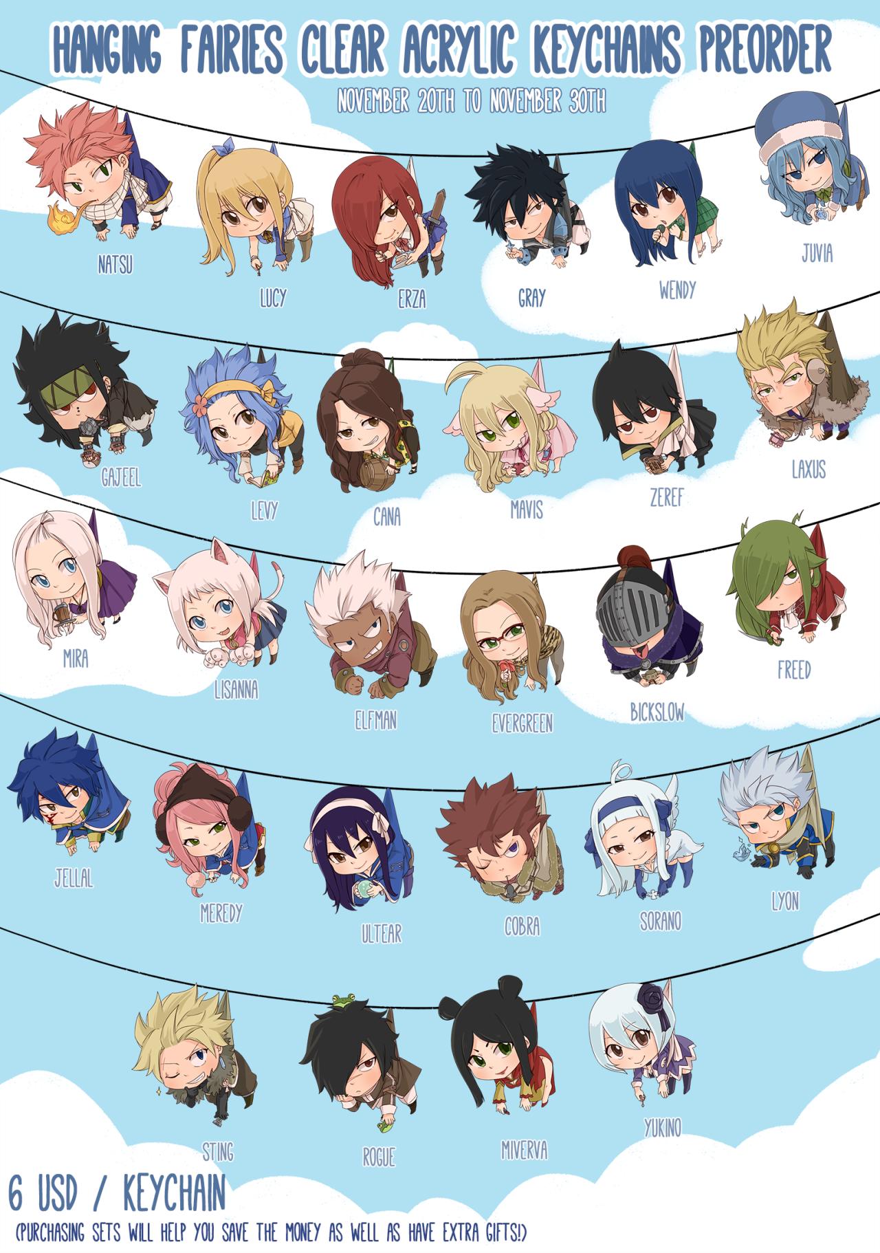 Anime Characters Fairy Tail : Ft chibi kawaii anime manga pinterest