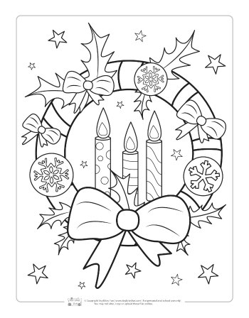 Free Christmas Coloring Pages Free christmas coloring